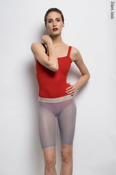 Clothes for ballet, yoga and sport by Zidans. Shorts With Tights, Leggings, Adult Ballet Class, Red Leotard, Red Bodysuit, Dance Wear, Leotards, Active Wear, Sportswear