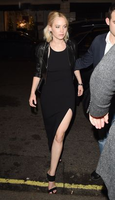 Jennifer Lawrence Proves the Angelina Slit Has Legs
