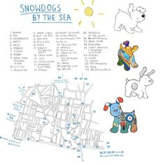 Snowdogs by the Sea in Brighton 2016, until 27.11.16 take a trail round the City to see the artists creations! http://www.chichesterselfcatering.co.uk/?p=2756
