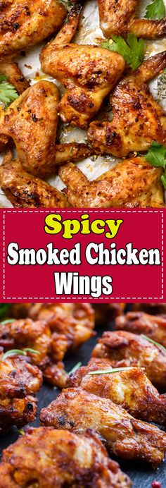 Smoked Chicken recipe is full of flavor with that awesome smoky flavor. Try smoked chicken breast, smoked chicken thighs and smoked chicken wings. #smokedchicken #smokedchickenwings Chicken Main Course Recipes, Smoked Chicken Recipes, Easy Chicken Thigh Recipes, Smoked Chicken Wings, Chicken Breast Recipes Healthy, Grilling Recipes, Beef Recipes, Yummy Recipes, Dessert Recipes