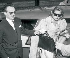 "Hermès, ""the Kelly bag is so named after the actress Grace Kelly, when in 1956, the then Princess of Monaco used one of her two favorite Hermès bags to shield her pregnancy from the paparazzi."" Rosemary Beck."
