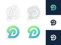 D 2 by Kakha Kakhadzen #Design Popular #Dribbble #shots