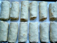 Foil wrapped breakfast burritos for camping