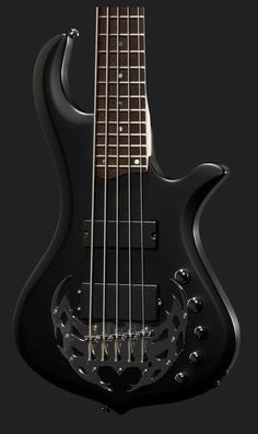 New Traben Array 5 string Electric Bass, Satin Black Active Pre-amp  #Traben #PrecisionBass