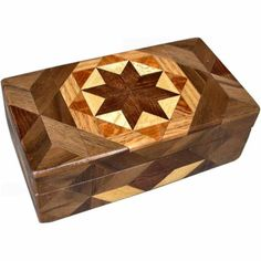 Brown Tone Glasses Box by woodmosaics on Etsy