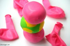 DIY Kids Squeeze Ball - Stress ball, squishy ball whatever you'd like to call it. This toy keeps kids busy for hours and they are simple to make!