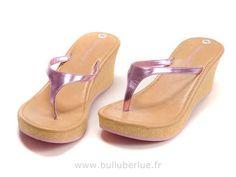 Chaussure Timberland femme Slipper blé rose