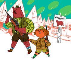 나인완 │ Bear Hunt │ 과제전 │ Dept. of Animation │ #hicoda │ hicoda.hongik.ac.kr