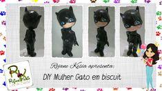DIY Mulher Gato em biscuit + SURPRESA