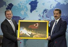 """Gıda Tarım ve Hayvancılık Bakanı Faruk Çelik, Anadolu Ajansı """"Editör Masası""""nda gündeme ilişkin değerlendirmelerde bulundu. [06.09.2016]"""