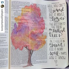 "Had fun playing around with my new watercolor pencils on this one! Hebrews Lyrics from ""Feel It"" by TobyMac. by catladyproductions Bible Study Journal, Scripture Study, Art Journaling, Devotional Journal, My Bible, Bible Art, Book Art, Bible Verses Quotes, Bible Scriptures"