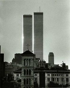 Best World Trade Center Twin Towers Images  New York City Trade  Kertesz The Twin Towers World Trade Center  Andre Kertesz