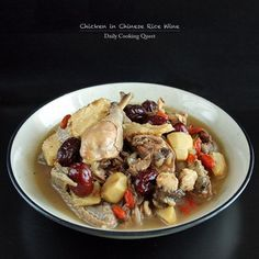 This chicken in Chinese rice wine recipe is one that is super easy to make, as long as you can get a hold of the rice wine. The recipe is passed down to me from my Mom, and hers specifically use two kinds of rice wine, the yellow rice wine …