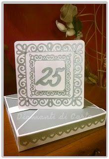 Diamanti di Carta: Card per 25 anni d'Amore!