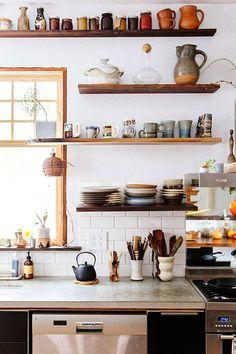 la kitchenette.