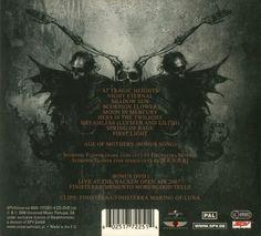 Moonspell - Night Eternal (back)