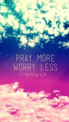 """Matthew 6:25-26 """"Therefore I tell you, do not worry about your life, what you…"""
