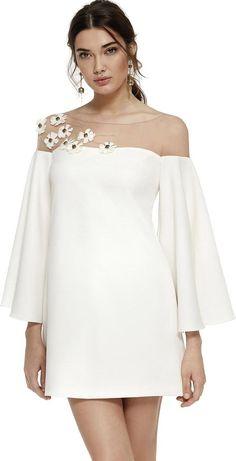 Vestidos de novia casuales cortos