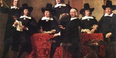 Governors Of The Wine Merchant's Guild by Ferdinand Bol Handmade oil painting reproduction on canvas for sale,We can offer Framed art,Wall Art,Gallery Wrap and Stretched Canvas,Choose from multiple sizes and frames at discount price. Ferdinand Bol, Web Gallery Of Art, Baroque Painting, Wine Merchant, Dutch Golden Age, Johannes Vermeer, Wine Art, Dutch Painters, European Paintings