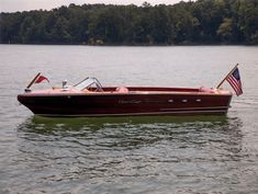 Bid for the chance to own a 1956 Chris-Craft Continental at auction with Bring a Trailer, the home of the best vintage and classic cars online. Chris Craft Wooden Boats, Wood Boats, Shallow Water Boats, Classic Wooden Boats, Eagle River, Wooden Boat Plans, Power Boats, Classic Cars Online, Fishing Boats
