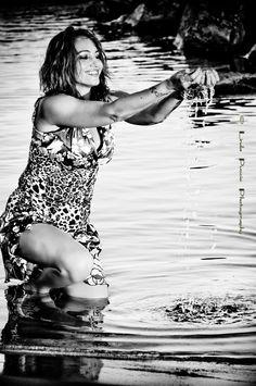 #model #woman #sea #movie