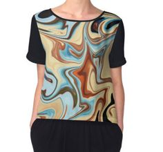 'Lazy Day Colours' Women's Chiffon Top available at http://www.redbubble.com/people/chrisjoy/works/15317525-lazy-day-colours?p=chiffon-top