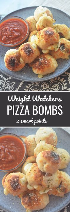 Weight Watchers Pizza Bombs 2 smart points - Recipe Diaries #weightwatchers #pizza #pizzaparty #healthy Weight Watchers Pizza, Weight Watchers Appetizers, Weight Watchers Sides, Weigh Watchers, Weight Watchers Free, Weight Watcher Dinners, Weight Watchers Smart Points, Weightwatchers Recipes, Healthy Pizza Recipes