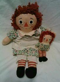 Vintage- 1960's - Raggedy Ann Dolls