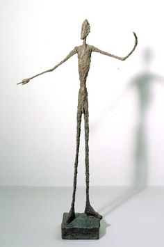 Alberto Giacometti 'Man Pointing', 1947 © The Estate of Alberto Giacometti (Fondation Giacometti, Paris and ADAGP, Paris), licensed in the UK by ACS and DACS, London 2016