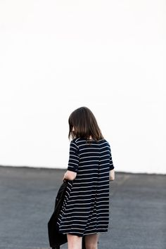 fire on the head : navy, stripes & leather