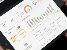 Dribbble - Dashboard by intellectsoft