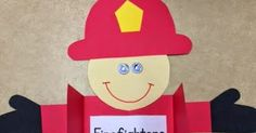 It is finally feeling like Fall! Some of my favorite units to teach are in the Fall. We just wrapped up our apple week a. Fire Safety Crafts, Fire Safety Week, Fire Prevention Week, Community Helpers, Class Projects, Happy Saturday, Kindergarten, Texas, Science