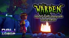 Warden: Melody of the Undergrowth Deluxe Edition Trapped in an ancient forest, a young prince searches for a lost god. Here he befriends the spirit of a young girl and a volatile child, and they quickly find their destinies intertwined. #Warden #indiegame #rpg #PC #Steam #cardboardkeep #YouTube #DaliHDGaming