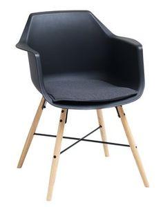 Ruokapöydän tuoli SEM pehm. musta tammi   JYSK