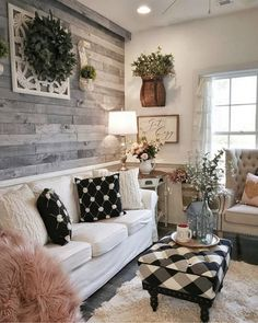 21 perfect farmhouse sofa table ideas to decorating your living room 19 Related Home Living Room, Living Room Furniture, Living Room Designs, Living Room Decor, Rustic Furniture, Modern Furniture, Cheap Furniture, Bedroom Decor, Boho Home
