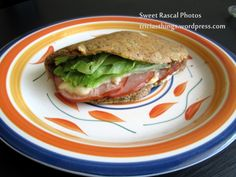 FLAX SEED WRAP / TORTILLA for wheat-free sandwiches or burritos on a wheat-belly, low-carb, low calorie, gluten-free eating plan.