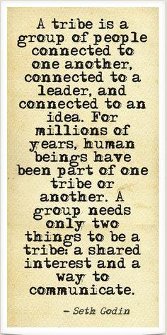 Tribe Seth Godin Quote 2