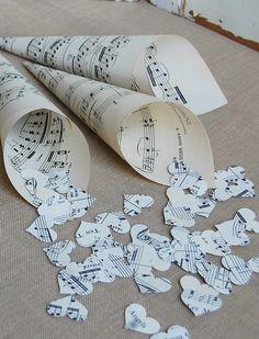 Cônes de cœurs musicaux