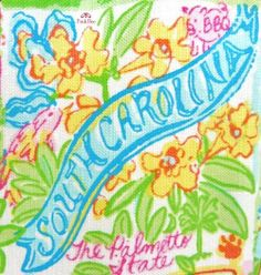 South Carolina State of Mind... Lilly Pulitzer