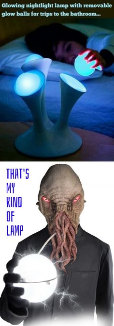Lamp for the Ood