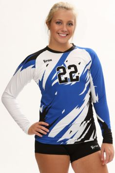 Roxamation Rhapsody Sublimated Rox Volleyball Jersey