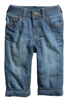 Jean Straight Lined doublé | H&M - 86 - 17.99 euros