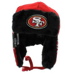 San Francisco 49ers Trapper Winter Hat by New Era NWT NFL Niners new with tags
