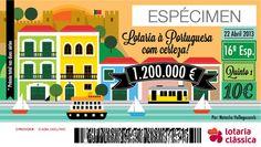 Lisboa Ticket - É uma vista Portuguesa, com certeza! by Natasha Hellegouarch, via Behance