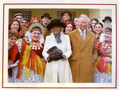 The royal couple is ringing in the holiday season with their annual Christmas card. This year's photo was taken on March 15 during their official visit to the Western Balkans and Croatia. -Chris Jackson
