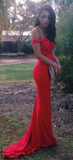 Evening Dress red prom dresses