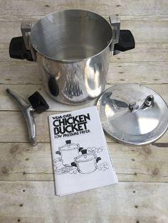 Vintage Ge Electric Avocado Green Dutch Skillet Fry Pan