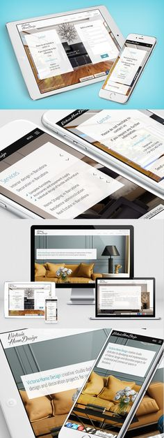 Web Design, front-end development responsive design and custom WordPress coding for the new portfolio of Victoria Home Design, an studio of interior design and decoration projects for residential and commercial spaces in Barcelona. #webdesign  #webdesign #webdevelopment #website #Barcelona