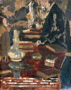 Still Life in Morton Sand's Dining Room - sickert