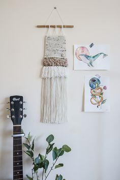 Woven Wall Hanging, Wall Hangings, Bohemian, Trending Outfits, Unique Jewelry, Handmade Gifts, Cute, Etsy, Vintage